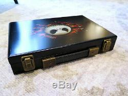 Rare Disney Nightmare Before Christmas Poker Chip Set in Wooden Box New 2005