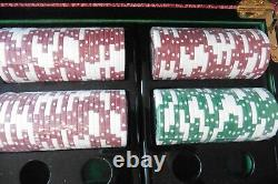Rare HBO THE SOPRANOS Promotional 300 Count Poker Chip Set in Box