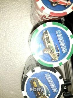 Rare, Shelby American Poker Set In Aluminum Carrying Case