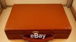 Rare Vintage Bakelite/Catalin 298 Poker Chip set WithCase E. S. Lowe N. Y