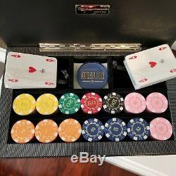 Renzo Romagnoli Luxury Carbon Fiber Swing Poker Set MSRP $495