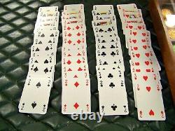 Renzo Romagnoli Poker Set with Poker Chips and 2 Decks of Cards in Display Case