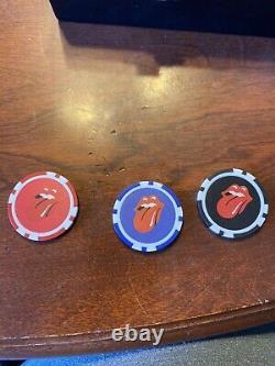 Rolling Stones Casino Boogie Poker Chip Set