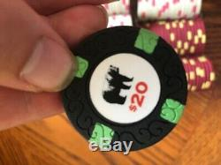 Rounders Poker Chips Cash Game Set