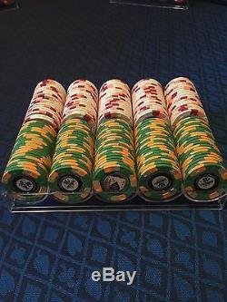 Set Of 200 Par A Dice Paulson Poker Chips