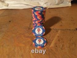 Set Of 800 Nile Club Ceramic Poker Chips