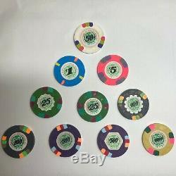 Set of 10 Paulson Casino De Isthmus City Poker Chips
