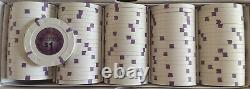 Set of (600) Horseshoe Southern Indiana. Poker gaming chips Paulson Top Hat Cane