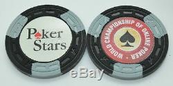 Set of 99 World Championship of Online Poker Chips A Mold Made by ASM