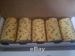 Sidepot Archetype Ceramic Poker Chip Set- 975 chips