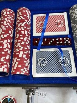 Smith & Wesson Casino Grade Poker Chips/Dice Collector Set