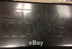 Star Wars Limited Edition Light Up Led Poker Chip Set Cartamundi. Rare Set