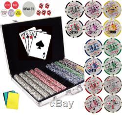 Stardard 11.5g 1000 Las Vegas Casino Style Poker Chips