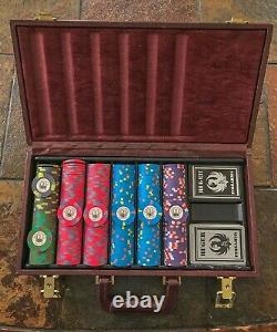 Sturm Ruger & Co. Poker Chips With Playing Cards In Leather Case