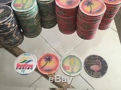 Sun Cruz Poker Chips 500 Piece Set Original Casino Grade