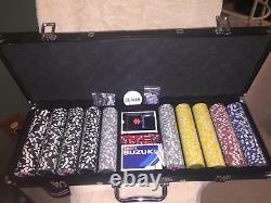 Suzuki Poker Chip Set