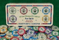 The Greenbacks Brand New Poker Chip Set! 200 Full Color Chips 2 Decks Cus