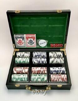 The Sopranos Rare HBO Promotional 300 Count Poker Chip Set