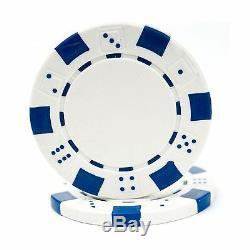 Trademark Poker 500 Dice Style 11.5-Gram Poker Chip Set Regular. Free Shipping
