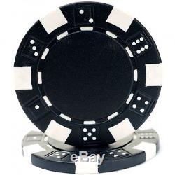 Trademark Poker 500 Dice Style 11.5Gram Poker Chip Set, New, Free Shipping