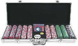 Trademark Poker NEXGEN PRO 500 Chip Classic Style Poker Set in Aluminum Case