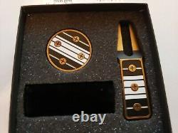 Tyson Lamb Crafted Simmons Divot & Mark Set Black and White NIB withCard
