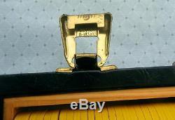 Vintage 1960 T R King Set Of 400 Scrown Mold Poker Chips PDN Monogram Ex W Case