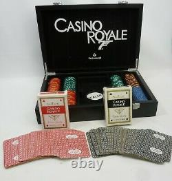 Vintage Cartamundi Casino Royale James Bond Luxe Poker Set