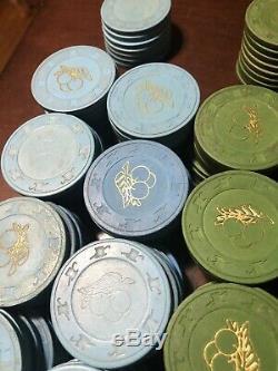 Vintage Casino Paulson Poker Chip Set