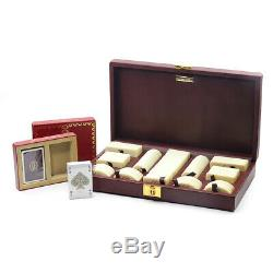 Vintage Rare Cartier Poker Chip & Playing Card Set