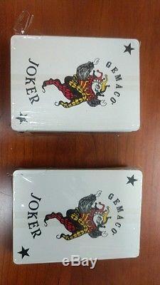 Vintage Ruger Clay Chip Poker Set SR Ruger Logo
