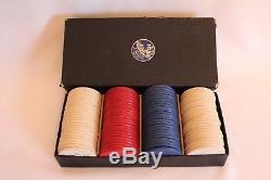 Vintage Set 1934 Chicago Worlds Fair Century Of Progress Poker Chips-orig. Box