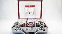 WSOP Professional 300 11.5 gram Chip Set Aluminum Case World Series of Poker