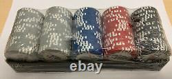 World Poker Tour Casino Chip Set Of 100 Still In Original Plastic