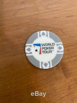 World Poker Tour Professional Chip&Card Wooden Collectors Box Set Texas Hold Em