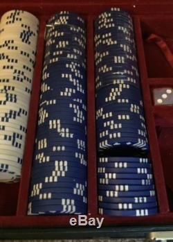 World Series of Poker PROFESSIONAL CHIP SET With Heavy Duty Case