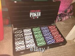 World series of Poker set 500 chips