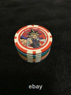 Yu-Gi-Oh! Poker Chips (Set of 6) Official & Legitimate English Mint RARE
