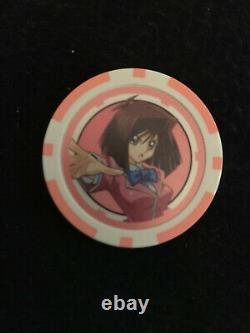 Yu-Gi-Oh! Poker Chips (Set of 6) Official & Legitimate English NEAR MINT