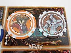 YuGiOh! Poker Chips FULL SET Yugi Kaiba Jaden Jesse Joey Dark Magician Girl BEWD